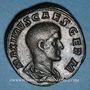 Coins Maxime, césar sous Maximin I Thrax (235-238). Sesterce. Rome, 235-236. R/: Maxime debout à gauche