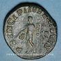 Coins Maxime, césar sous Maximin I Thrax (235-238). Sesterce. Rome, 236-238. R/: Maxime debout à gauche