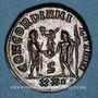 Coins Maximien Hercule, 1er règne (286-305). Antoninien. Cyzique, 6e officine, 293-294. R/: Maximien