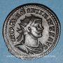 Coins Maximien Hercule, 1er règne (286-305). Antoninien, Lyon, 1ère officine, 290-291. R/: Jupiter nu à g.