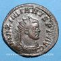 Coins Maximien Hercule, 1er règne (286-305). Antoninien.  Lyon, 1ère officine, 294. R/: la Paix