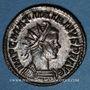 Coins Maximien Hercule, 1er règne (286-305). Antoninien, Lyon, 2e officine, 287-289. R/: Hercule à gauche