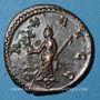 Coins Maximien Hercule, 1er règne (286-305). Antoninien. Lyon, 2e officine, 290-291. R/: la Paix debout