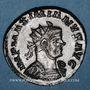 Coins Maximien Hercule, 1er règne (286-305). Antoninien. Lyon, 2e officine, 292. R/: Jupiter à demi-nu