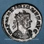 Coins Maximien Hercule, 1er règne (286-305). Antoninien. Lyon, 2e officine, 292. R/: Jupiter