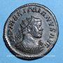 Coins Maximien Hercule, 1er règne (286-305). Antoninien. Lyon, 3e officine, 290-294. R/: la Santé à droite