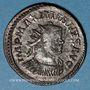 Coins Maximien Hercule, 1er règne (286-305). Antoninien. Lyon, 3e officine, 292. R/: Minerve