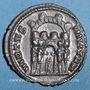 Coins Maximien Hercule, 1er règne (286-305). Argenteus. Rome, 294. R/: quatre soldats