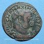 Coins Maximien Hercule, 1er règne (286-305). Bronze radié. Alexandrie 3e officine, 299-297. R/: l'empereur