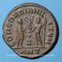 Coins Maximien Hercule 1er règne (286-305) Bronze radié Antioche 7e officine 296. R/: l'empereur & Jupiter