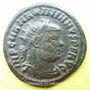 Coins Maximien Hercule, 1er règne (286-305). Bronze radié. Cyzique, 5e officine, 295-299. R/: l'empereur