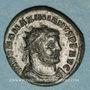 Coins Maximien Hercule, 1er règne (286-305). Bronze radié. Héraclée, 3e officine, 295-298. R/: Maximilien