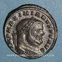 Coins Maximien Hercule, 1er règne (286-305). Follis. Aquilée, 2e officine, 296-299. R/: Génie