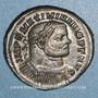 Coins Maximien Hercule, 1er règne (286-305). Follis. Londres, 303-305. R/: Génie