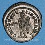 Coins Maximien Hercule, 1er règne (286-305). Follis. Londres, vers 300. R/: Génie