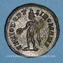 Coins Maximien Hercule, 1er règne (286-305). Follis. Londres, vers 303. R/: Génie