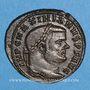 Coins Maximien Hercule, 1er règne (286-305). Follis. Rome, 2e officine. 300-301. R/: la Monnaie
