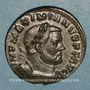 Coins Maximien Hercule, 1er règne (286-305). Follis. Trèves, 1ère officine, 303-305. R/: Génie