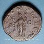 Coins Maximin I Thrax (235-238). Sesterce. Rome, 235-236. R/: la Fidélité militaire debout à gauche