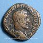 Coins Maximin I Thrax (235-238). Sesterce. Rome, 235-236. R/: la Santé assise à gauche