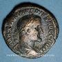 Coins Maximin I Thrax (235-238). Sesterce. Rome, 236-238. R/: la Paix debout à gauche