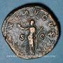 Coins Maximin I Thrax (235-238). Sesterce. Rome, 236-238. R/: la Paix
