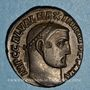 Coins Maximin II Daza, auguste (309-313). Follis. Alexandrie, 6e officine, 312-313. R/: Génie