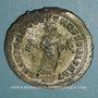 Coins Maximin II Daza, césar (305-308). Follis. Carthage, 4e officine. 305-306. R/: Carthage