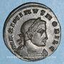 Coins Maximin II Daza, césar (305-308). Follis. Lyon, 1ère officine, 308. R/: Génie