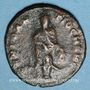 Coins Maximin II. Monnayage semi-autonome pour Antioche. 1/4 follis. Antioche 62e officine, 311-312
