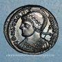 Coins Monnayage pour Constantinople. Centenionalis. Siscia 2e officine, 330-333. R/: Victoire