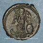 Coins Monnayage pour Constantinople. Centenionalis. Trèves, 1ère officine. 330-331. R/: Victoire