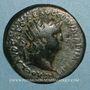 Coins Néron (54-68). Dupondius. Rome, 64. R/: Victoire