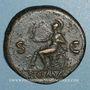 Coins Néron (54-68). Sesterce. Rome, 65. R/: Rome