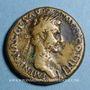 Coins Nerva (96-98). Sesterce. Rome, 97. R:/ la Fortune