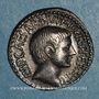 Coins Octave (43-27 av. J-C). Denier. Italie, 36 av. J-C. R/: temple tétrastyle