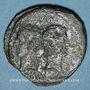 Coins Octave et Agrippa. Dupondius. Aurasio (Orange ?), vers 30-29 av. J-C. R/: Proue de navire