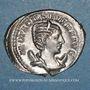 Coins Otacilie, épouse de Philippe I. Antoninien. Rome, 245-247. R/: Junon