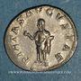 Coins Otacilie, épouse de Philippe I. Antoninien. Rome, 247. R/: la Piété