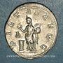 Coins Otacilie, épouse de Philippe I. Antoninien. Rome, 4e officine. 248. R/: la Piété