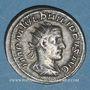 Coins Philippe I (244-249). Antoninien. Rome, 244-245. R/: la Paix debout à g.
