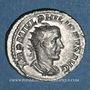 Coins Philippe I (244-249). Antoninien. Rome, 244-245. R/: la Santé debout à g.
