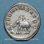 Coins Philippe I (244-249). Antoninien. Rome, 247. R/: éléphant marchant à gauche