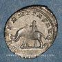 Coins Philippe I (244-249). Antoninien. Rome, 247. R/: éléphant