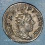 Coins Philippe I (244-249). Antoninien. Rome,  248. R/: temple