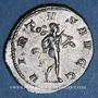 Coins Philippe II, auguste (247-249). Antoninien. Rome, 3e officine, 248. R/: Mars nu, le manteau flottant