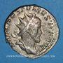 Coins Postume (260-269). Antoninien. Cologne, 260. R/: le Rhin