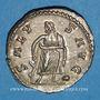 Coins Postume (260-269). Antoninien. Cologne, 266. R/: Esculape