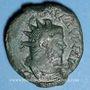 Coins Postume (260-269). Dupondius. Cologne. R/: la Paix courant à gauche