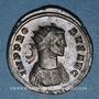 Coins Probus (276-282). Antoninien. Rome, 6e officine, 278-280. R/: Probus en habit militaire